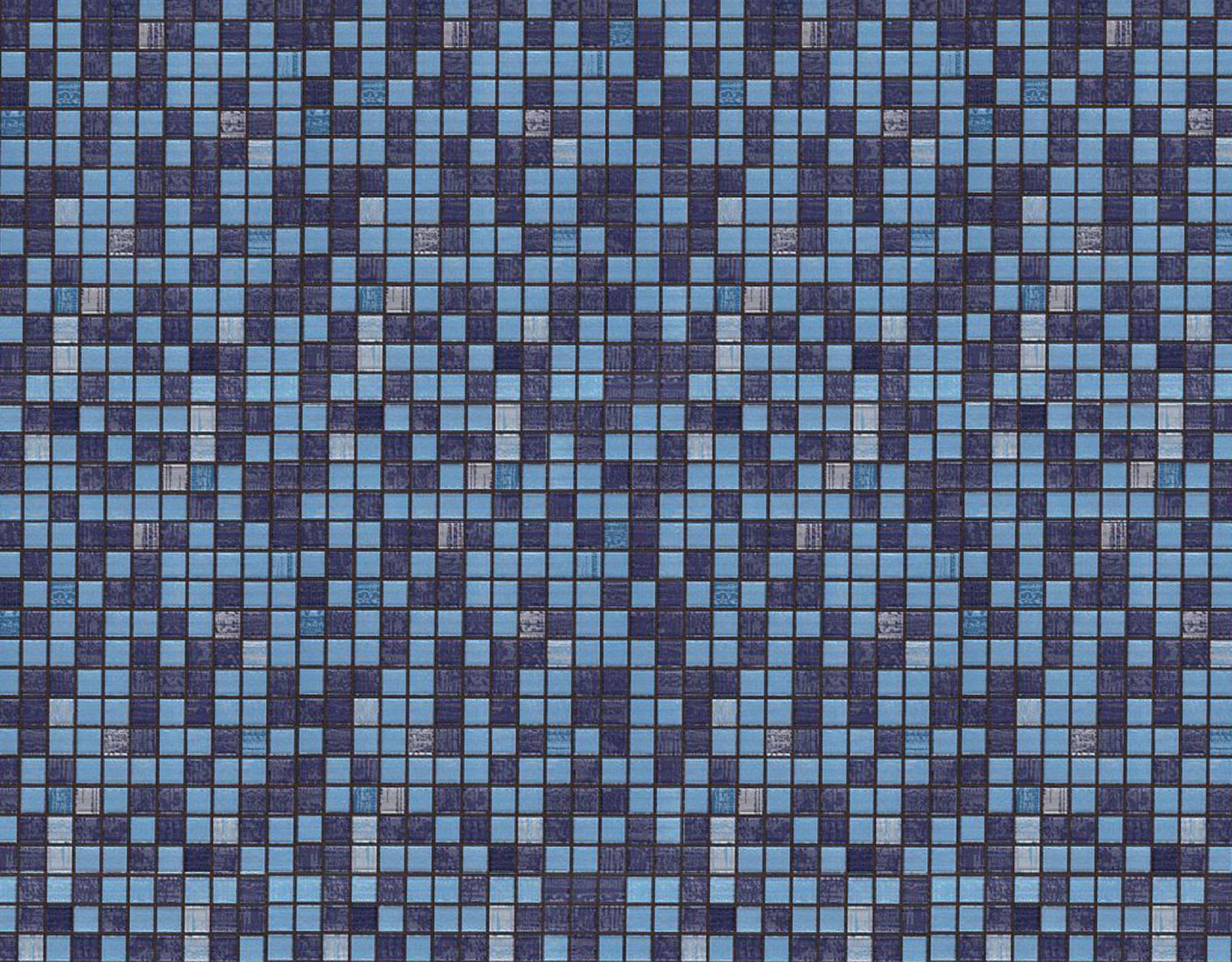 Pra você são pastilhas certo? #396A92 2050x1600 Banheiro Com Ladrilho Azul