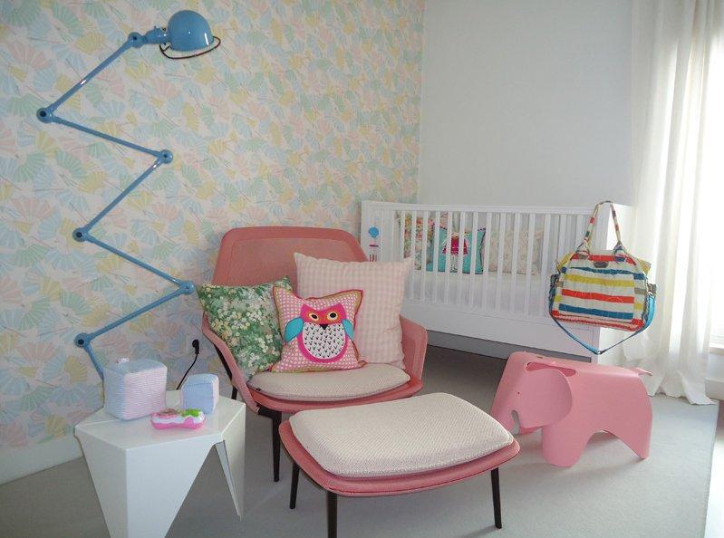 Projetos bonitos, funcionais e criativos Casa de Filó ~ Quarto Rosa Azul