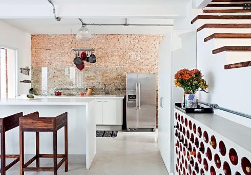 cozinha panelas penduradas casa e jardim1