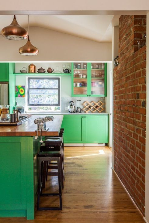 cozinha verde pinterest