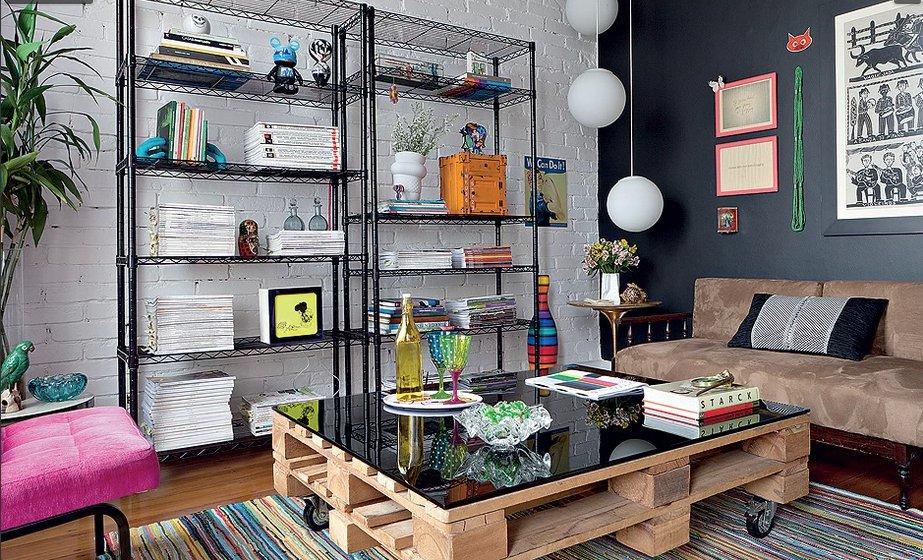 decoracao de sala barata e criativa:Sala Decoracao Jardim Com