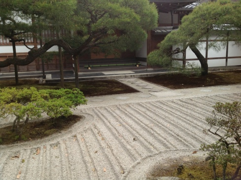 Jardim Zen Pavilhão Prateado
