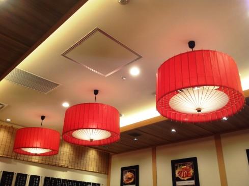 luminárias restaurante Kyoto