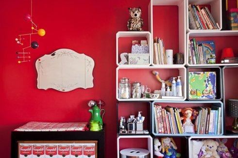 quarto colorido menina ameise design 1